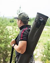 Подвійний тубус для вудилищ fisher 150 см * 80 мм