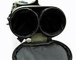 Двойной тубус для удилищ  Fisher 120 см *80 мм, фото 9