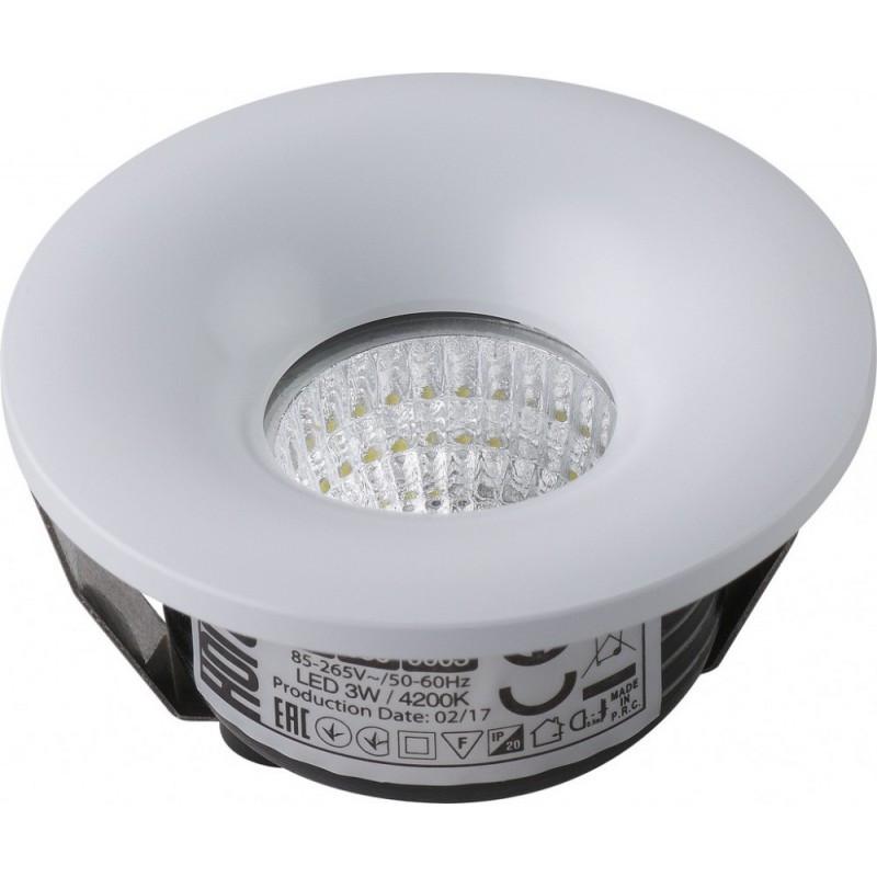 Светодиодный встраиваемый светильник 3W BIANCA Horoz Electric