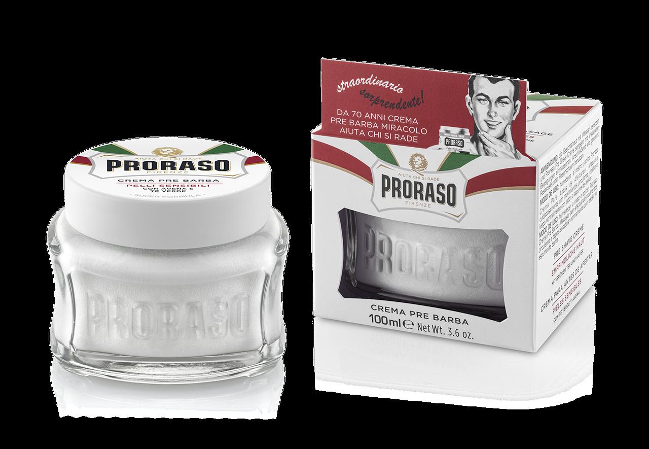 Крем до бритья для чувствительной кожи Proraso 100мл