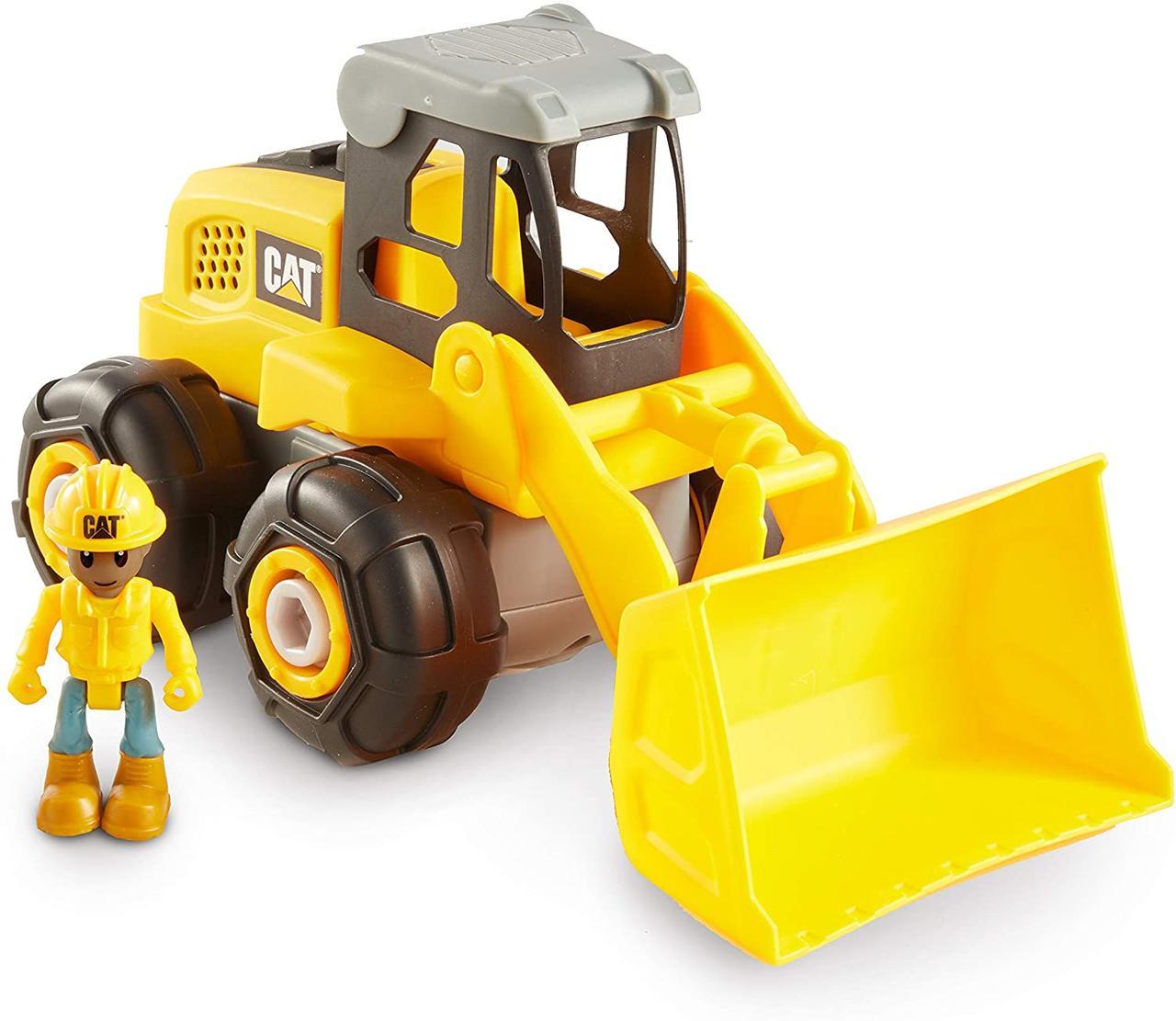 Машинка конструктор CAT Construction Build Your Own Wheel Loader