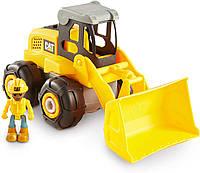 Машинка конструктор CAT Construction Build Your Own Wheel Loader, фото 1