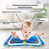 Водяной коврик с рыбками  Inflatable water play mat, фото 4