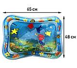 Водяной коврик с рыбками  Inflatable water play mat, фото 5