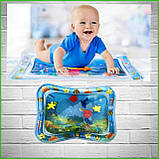Водяной коврик с рыбками  Inflatable water play mat, фото 8