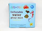 Водяной коврик с рыбками  Inflatable water play mat, фото 9