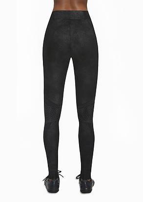 Спортивные женские легинсы BasBlack Flint black (original), лосины для бега, фитнеса, спортзала, фото 2