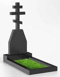 Памятник в виде креста из гранита К-19