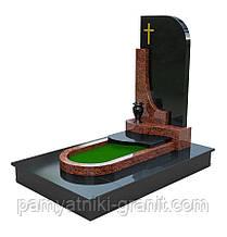 Памятник гранитный (Образец 0106)