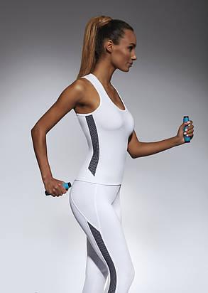 Спортивный женский топ BasBlack Imagin-top 50 (original), майка для бега, фитнеса, спортзала, фото 2