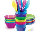 Пластиковая многоразовая посуда
