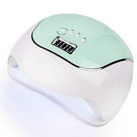 Лампа для маникюра SUN BQ-V5 (LED+UV) 120W Зеленая