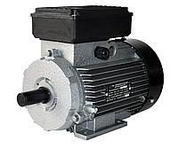 Электродвигатель однофазный АИ1Е 80 А4 (0,75 кВт / 1500 об/мин) 220В крепление на лапах (1081)