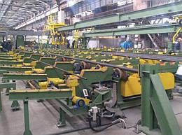 Комплексно-автоматизированная линия взвешивания, измерения длины, клеймения и маркировки труб