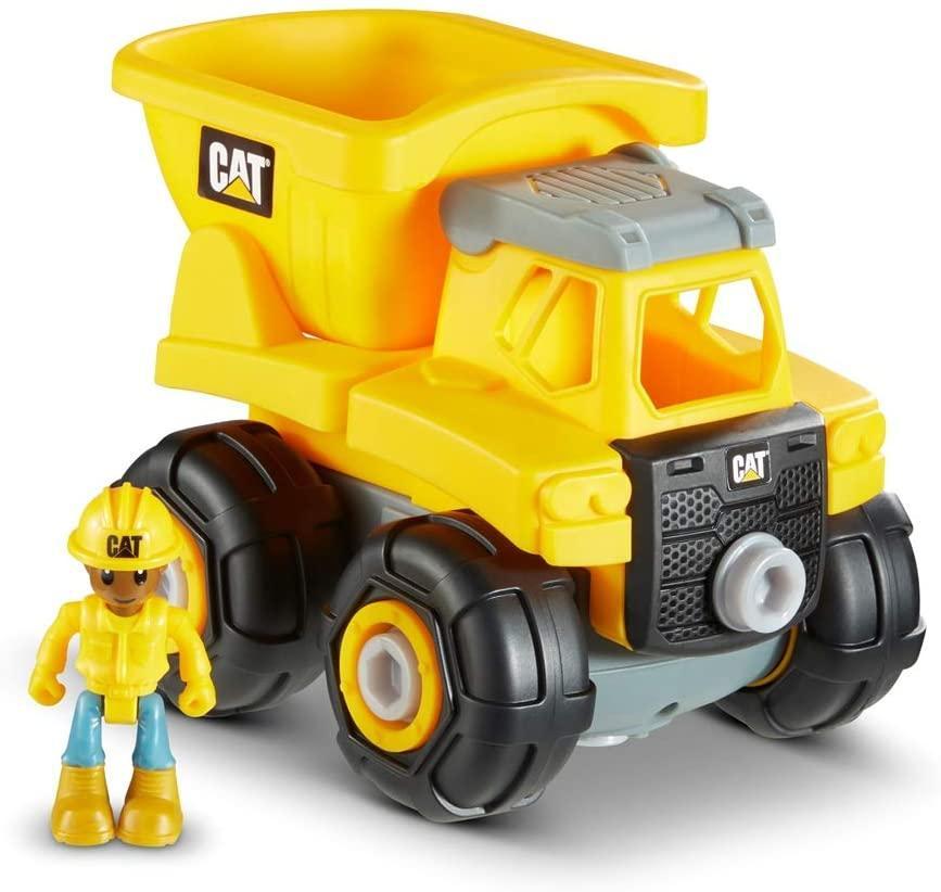 Машинка конструктор Cat Construction Build Your Own Junior Crew Dump Truck Building Toy грузовик