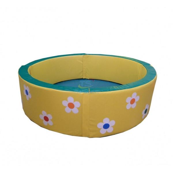 Сухой бассейн круглый с аппликацией 300-50 см