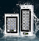 Антивандальная кодовая панель доступа по картам Em-Marine ZKTeco MK-HE, фото 2