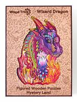 """Пазл деревянный """"Волшебный Дракон"""" Wood Trick"""