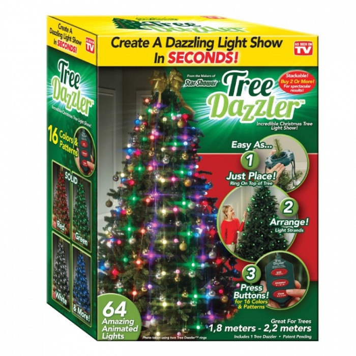 Елочная гирлянда Tree Dazzler 48 Led лампочек