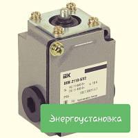 Выключатель концевой ВПК-2110-БУ2 толкатель IP65 IEK