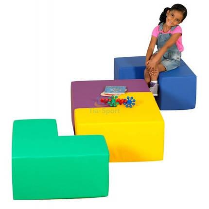 Модульные сидения-столик Геометрия, фото 2