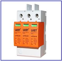 DC LKTD2-1000V 40 40КА фотогальваническая защита от перенапряжения постоянного тока