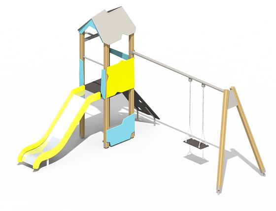 Детский игровой комплекс Es36, фото 2