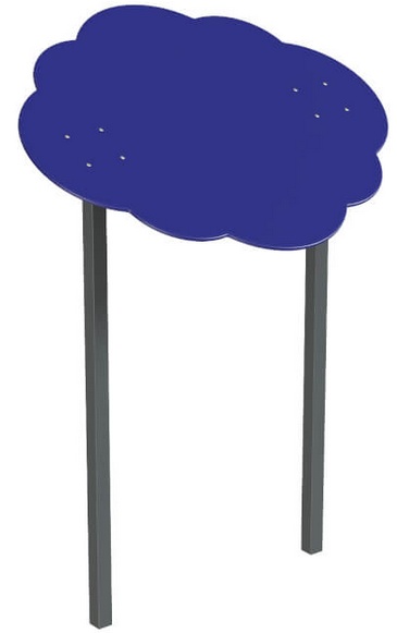 Навіс подвійний Хмаринка 15 метал