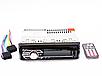 Автомагнітола 1DIN MP3-6317 RGB | Автомобільна магнітола | RGB панель + пульт управління, фото 3