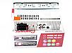 Автомагнітола 1DIN MP3-6317 RGB | Автомобільна магнітола | RGB панель + пульт управління, фото 4