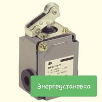Выключатель концевой ВПК-2112-БУ2 рычаг с роликом IP65 IEK