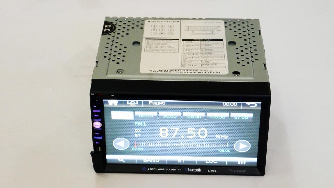 "Автомагнитола MP3 2DIN 6910 GPS USB (DVD) | Автомобильная магнитола | 7"" экран GPS-Mp3-Dvd-Tv/Fm-тюнер"