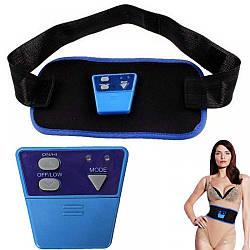 Массажер для сжигания жира AB GYMNIC | пояс миостимулятор для похудения