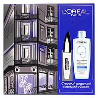 Набор L'Oréal Paris Bambi eye False Lash (тушь для ресниц черная + мицеллярная вода L'Oréal Paris)