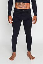 Мужские термоштаны для спорта HASTER ProClima зональные бесшовные, фото 2