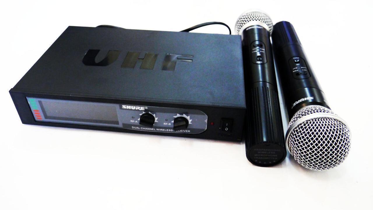 Радиосистема Shure KCX-388 база 2 радиомикрофона   радиомикрофон   беспроводной микрофон