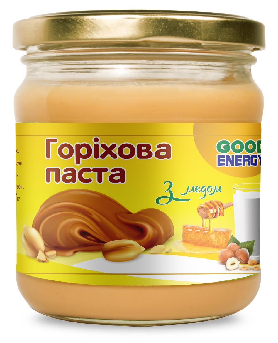 Горіхова паста з медом ТМ Good Energy 180 г
