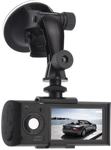 Автомобильный видеорегистратор X3000AV на 2 камеры   авторегистратор   регистратор авто