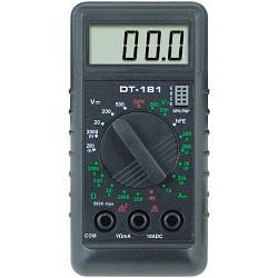 Универсальный мультиметр   тестер   вольтметр   амперметр DT 181