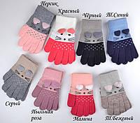 Перчатки для девочки Мышки