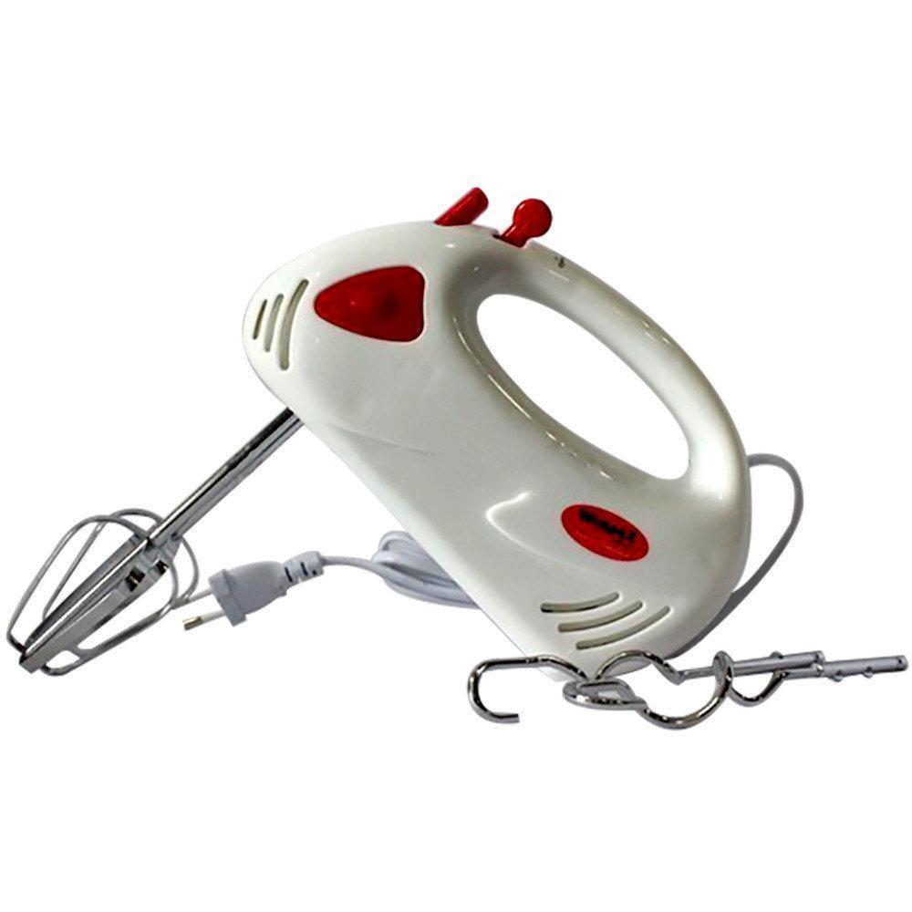 Ручной кухонный миксер WimpeX WX-432 на 7 скоростей, венчики для взбивания, венчики для замеса теста