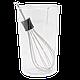 Ручний кухонний занурювальний блендер Domotec MS 0977 (4 в 1) з чашею   ручний міксер   кухонний комбайн, фото 3
