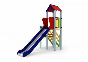 Детский комплекс Уют, высота горки 1,5 м, фото 2