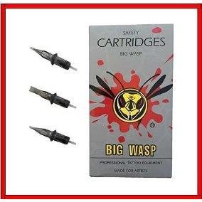 Картридж для тату и татуажа BIG WASP Gray Prestige (20 шт)  3RL 1003