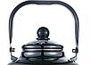 Эмалированный чайник с подвижной ручкой Benson BN-104 черный с рисунком (1.1 л), фото 3