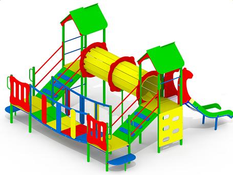 Дитячий ігровий комплекс KS94, фото 2