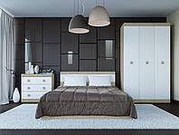 Спальня комплект 1 ЭВЕРЕСТ Дуб сонома + Белый, фото 1