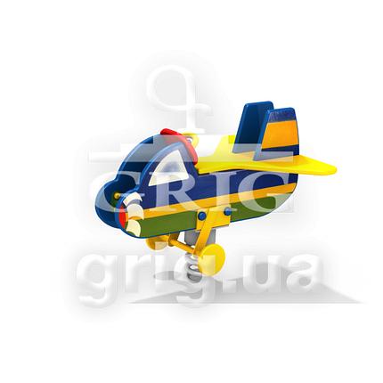 """Качалка на пружине """"Самолетик"""", фото 2"""