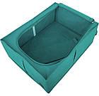 Короб для хранения вещей со съемной перегородкой (лазурь), фото 4