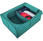 Короб для хранения вещей со съемной перегородкой (лазурь), фото 6